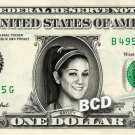 Bayley WWE on REAL Dollar Bill Cash Money Collectible Memorabilia Celebrity Bank