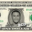COLIN KAEPERNICK on a REAL Dollar Bill 49ers Football NFL Cash Money Collectible