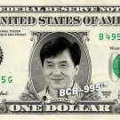 JACKIE CHAN on a REAL Dollar Bill Cash Money Collectible Memorabilia Celebrity