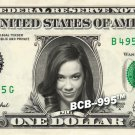 AJ LEE on REAL Dollar Bill WWE Cash Money Collectible Memorabilia Celebrity Bank