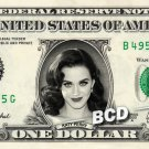 KATY PERRY on REAL Dollar Bill Cash Money Collectible Memorabilia Celebrity Bank