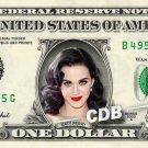 KATY PERRY on a REAL Dollar Bill Cash Money Collectible Memorabilia Celebrity