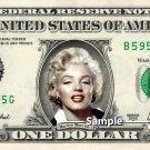 MARILYN MONROE on REAL Dollar Bill Cash Money Collectible Celebrity Memorabilia