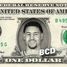 KLAY THOMPSON REAL Dollar Bill Cash NBA Golden State Warriors Money Collectible