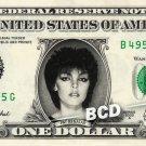 PAT BENATAR Real Dollar Bill Cash Money Collectible Memorabilia Celebrity Bank