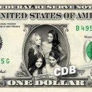 PRETTY LITTLE LIARS on a REAL Dollar Bill Cash Money Collectible Memorabilia Celebrity