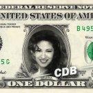SELENA QUINTANILLA on REAL Dollar Bill Cash Money Collectible Memorabilia Celebrity Novelty Bank