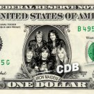 IRON MAIDEN on a REAL Dollar Bill IronMaiden Cash Money Collectible Memorabilia Celebrity