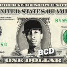 TYGA on a REAL Dollar Bill Cash Money Collectible Memorabilia Celebrity Novelty Bank Note Dinero