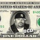 BIG PUN Rapper on a REAL Dollar Bill Cash Money Collectible Memorabilia Celebrity Novelty