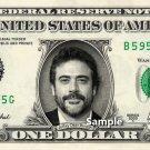 JEFFREY DEAN MORGAN on a REAL Dollar Bill Cash Money Collectible Memorabilia Celebrity