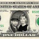 SUGARLAND on a REAL Dollar Bill Cash Money Collectible Memorabilia Celebrity Novelty