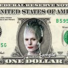 BORG QUEEN Star Trek on a REAL Dollar Bill Cash Money Collectible Memorabilia Celebrity Novelty