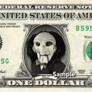 BILLY THE PUPPET Saw on a REAL Dollar Bill Cash Money Collectible Memorabilia Celebrity