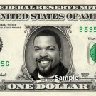 ICE CUBE Rapper on a REAL Dollar Bill Cash Money Collectible Memorabilia Celebrity