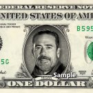 NEGAN Walking Dead on a REAL Dollar Bill Cash Money Collectible Memorabilia Celebrity