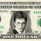 HARRY POTTER on a REAL Dollar Bill Cash Money Collectible Memorabilia Celebrity
