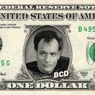 Q on a REAL Dollar Bill Star Trek TNG Cash Money Collectible Memorabilia