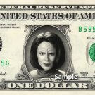 B'Elanna Torres on a REAL Dollar Bill Star Trek Voyager Cash Money Collectible