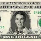 BILL NYE Science Guy - Real Dollar Bill Cash Money Collectible Memorabilia Celebrity