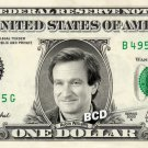 ROBIN WILLIAMS - Real Dollar Bill Cash Money Collectible Memorabilia Celebrity Novelty