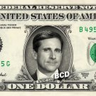 STEVE CARELL - Real Dollar Bill Cash Money Collectible Memorabilia Celebrity Novelty