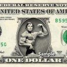 ARNOLD SCHWARZENEGGER - Real Dollar Bill Cash Money Collectible Memorabilia Celebrity