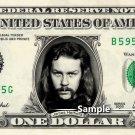 JAMES HETFIELD - Real Dollar Bill Metallica Cash Money Collectible Memorabilia