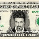 GEORGE MICHAEL - Real Dollar Bill Cash Money Collectible Memorabilia Celebrity