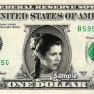 PRINCESS LEIA - Real Dollar Bill Star Wars Disney Cash Money Collectible Memorabilia