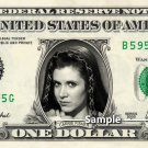 CARRIE FISHER - Real Dollar Bill Star Wars Princess Leia Cash Money Collectible