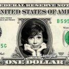 MARY TYLER MOORE - Real Dollar Bill Cash Money Collectible Memorabilia Celebrity