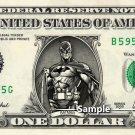 BATMAN - Real Dollar Bill DC Comic Cash Money Collectible Memorabilia Celebrity