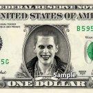 JOKER Suicide Squad - Real Dollar Bill DC Comics Cash Money Collectible Memorabilia