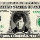 BENEDICT CUMBERBATCH - Real Dollar Bill Sherlock Cash Money Collectible Memorabilia