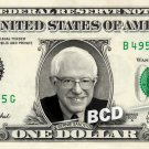 BERNIE SANDERS - Real Dollar Bill Cash Money Collectible Memorabilia Celebrity Novelty