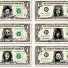 Halloween Horror Movie Pack - 6 Dollar Bills on Real Cash Money Collectible Bank