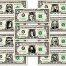 Harry Potter 11-set Dollar Bill Collection - Made with Real Money Cash Currency Memorabilia