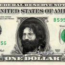 JERRY GARCIA - Real Dollar Bill Cash Money Collectible Memorabilia Celebrity Novelty
