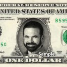 BILLY MAYS on REAL Dollar Bill Cash Money Bank Note Currency Dinero Celebrity