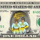 AMBIGUOUSLY GAY DUO - Real Dollar Bill Cash Money Collectible Memorabilia Celebrity