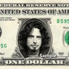 CHRIS CORNELL Soundgarden - Real Dollar Bill Cash Money Collectible Memorabilia