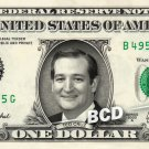 TED CRUZ - Real Dollar Bill Cash Money Collectible Memorabilia Celebrity Novelty Bank Note Dinero