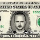 JESSE PINKMAN Aaron Paul Breaking Bad - Real Dollar Bill Cash Money Collectible Memorabilia