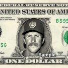 ROBIN YOUNT Milwaukee Brewers - Real Dollar Bill Cash Money Collectible Memorabilia
