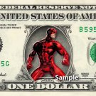 DareDevil Marvel - Real Dollar Bill Cash Money Collectible Memorabilia Celebrity Novelty Bank Note