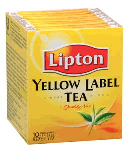 Lipton Black Tea Yellow Label 10 teabags