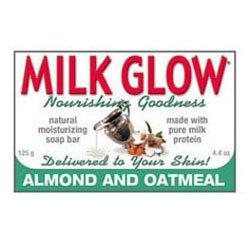 Milk Glow Soap Almond & Oatmeal (125gr)