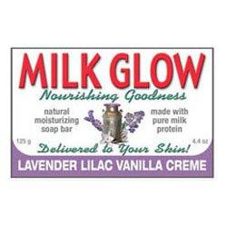 Milk Glow Soap Lavander & Vanilla Creme (125gr)
