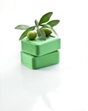 GREEK TRADITIONAL GREEN OLIVE OIL SOAP 220g